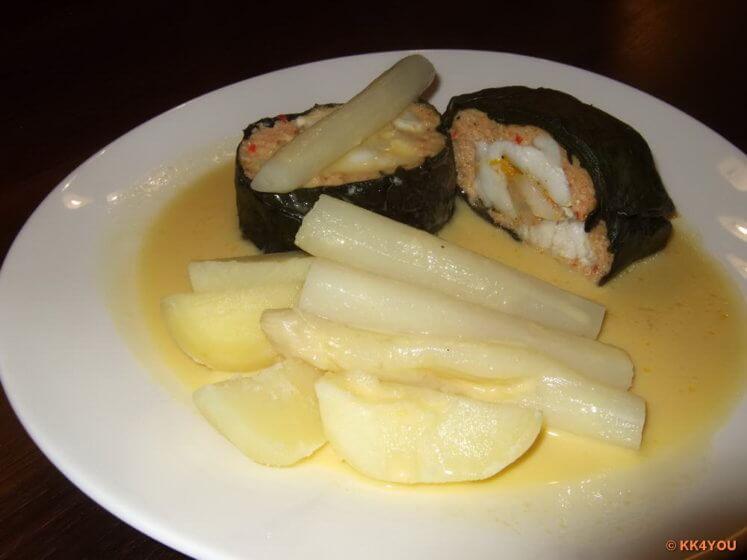 Mangold-Edelfischroulade
