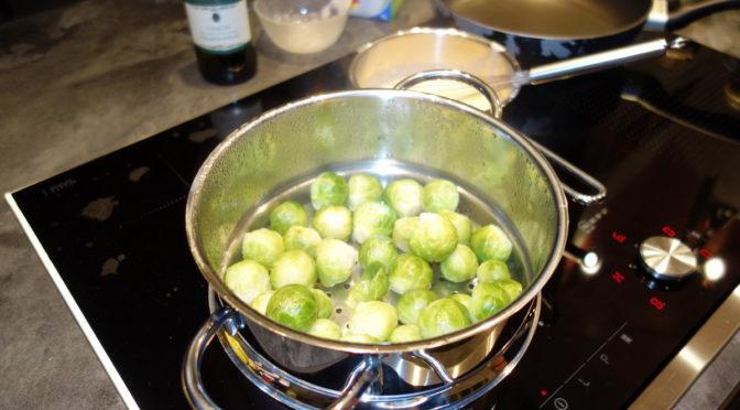 Rosenkohl mit Rosmarinkartoffeln