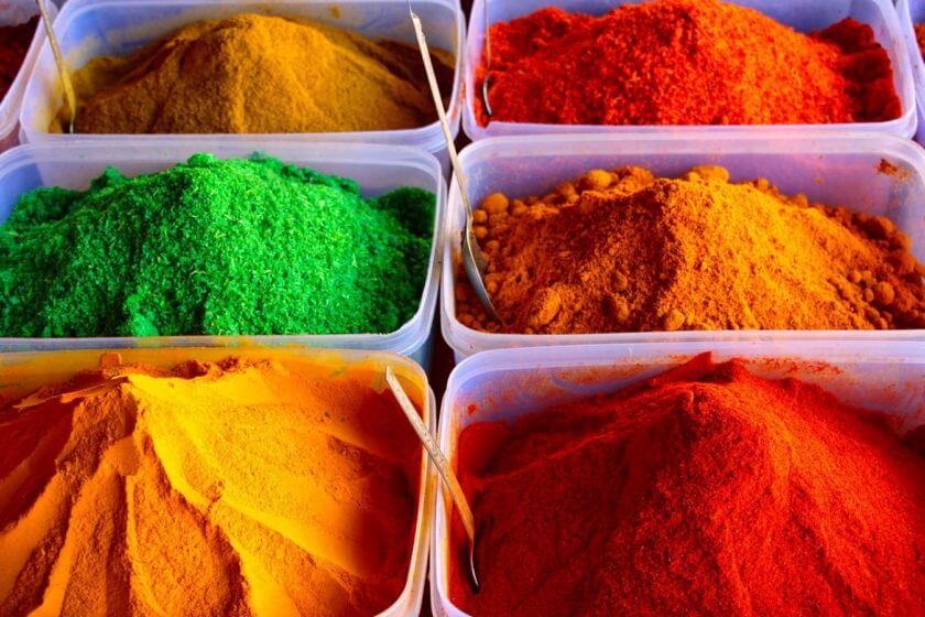 Zutaten für die Curry Mischung