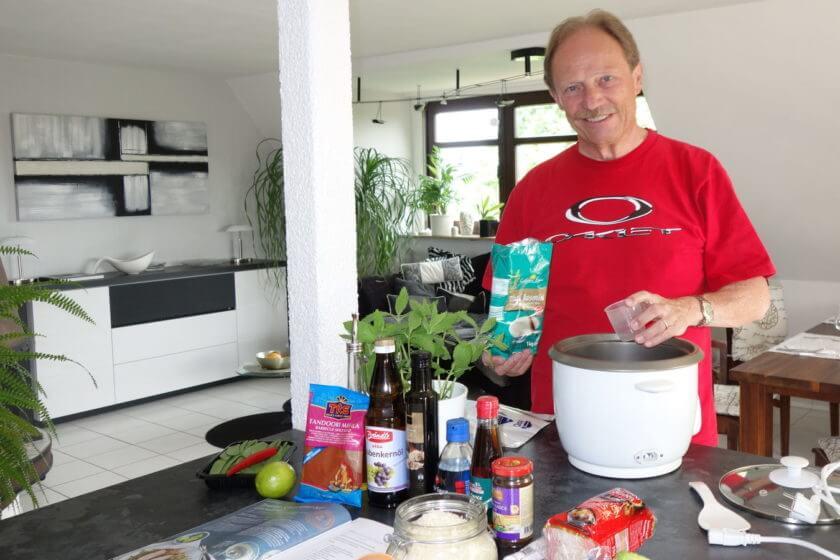 Klaus Keuthen, Betreiber des Blogs für ambitionierte Hobby-Köche