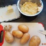 Zutaten für Folienkartoffeln