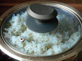 Duftreis im Reiskocher