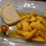 Tiramisu-Parfait mit Mango-Maracuja-Kompott